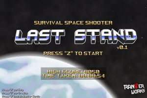 Last Stand - title screen by FontesMakua