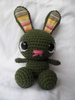 Forest Bunny - Large by Crittercre8r