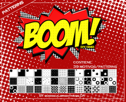 +Boom/patterns by SoMagicalBrightness