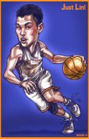 JUST LIN - Jeremy Lin by EddieHolly