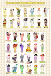 COLLAGE - Flavescens 'n Friends Milkshake MENU by vtas