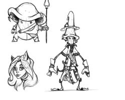 Sproutling sketches 3 by CommissionMan