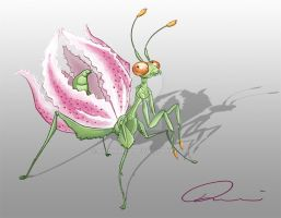 Lily Mantis by NaomiMcL