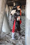 Ezio Cosplay +at the BEACH+ by dragongirl77