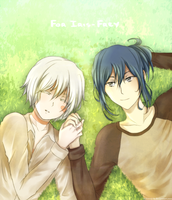NO.6: Nezumi x Shion by rammay-k