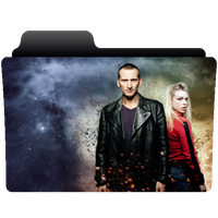folder icon Doctor Who series 1 (Eccleston) by NonStopSarah