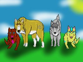 Wolf's Rain Forever by lolpeaceoutlol