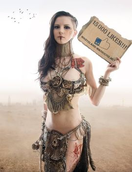 15.000 Likes on Facebook by Wasteland-Warriors