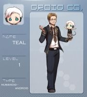 DROID-co: Terence (Teal) by firstfarewell