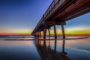 Pier to Nowhere by 904PhotoPhactory
