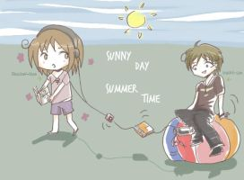 SUMMERTIME-SUNNYDAY by shadow--chan