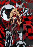 Miss July: Age of ARES Brainwashed Variant by Kaufee