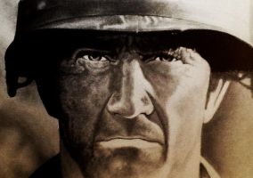 Mel Gibson (we were soldiers) by Statham75
