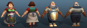 Settlers 7 Weaver + Coiner by polyphobia3d