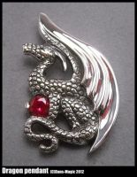 Dragon pendant by Dans-Magic