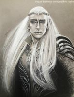 Warrior King - Thranduil by m-a-y-h-e-m