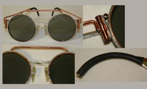 Steampunk sun glasses by gokusonwing0