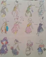 PokeClothing - Sinnoh Big Batch 1 by Champion-Frita