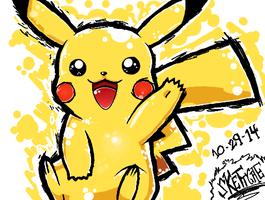 Pikashine!! by Skettche