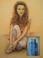 Jane Seymour with Shampoo Bottles by casey62