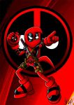 Deadpool Bean by Berty-J-A