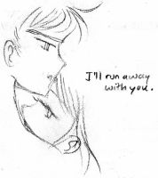 I'll Run Away With You. by CieloBell