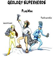Geology Superheros by DonyaQuick