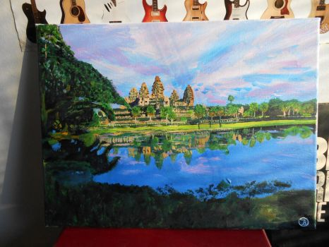Angkor Wat by Jspringsteen