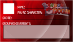 RD-FC Membership Card 3 - Fire Card by MonkeyKingHero