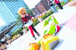 Otakon 2014 - Harley Quinn(PS) 11 by VideoGameStupid