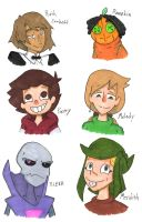 Haunted Library OC Drawings 10 by Deterex525