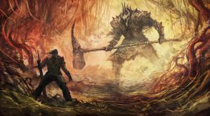 Bound by Flame - Undead General Epic Battle by Eyardt