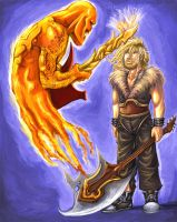 The fire duel. by Lethus