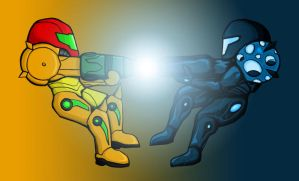 Metroid - Dark Echoes by Sol-Zephyr