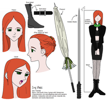 Ivy Reference Art - Plz comment by ToAtoneArt