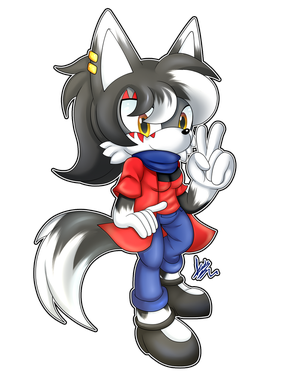(AT) .:Sasha The Wolf:. by MimiGuerrero