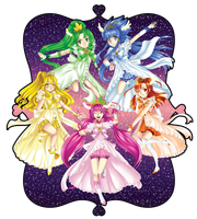 Precure Princess Form by nuxi-chan