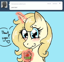 Apple Juice time! by Shinx07