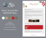Merry Journal ~ Premium Content by ClearStyle