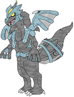 Kyurem is whole again by HeatherTFennec