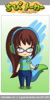 Chibi Drabble-monster by RoboDes