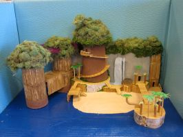 Destiny Islands Model by hikari-kairi-yume