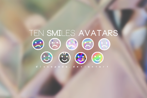 10 Avatars Smiles by Discopada
