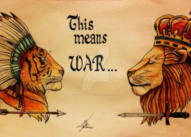 This means war by MartaCmTattoos