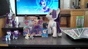 My Rarity Army =) by SkycatcherEquestria