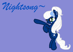 Nightsong! :3 by Pixelthepony24680