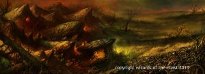 Mountain plains by Dave-Kendall
