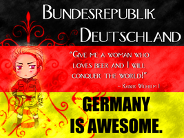 GERMANY IS AWESOME by potatosnap
