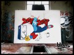 Step by Step Graffiti by TheArtofBlouh
