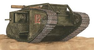 British tank by JozsefSvab